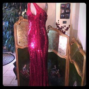 Dresses & Skirts - Long red sequin dress
